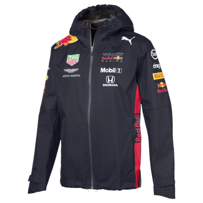 Red Bull Racing Official Team Rain Jacket